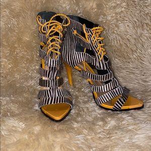 Schutz Mini Zebra Pony Sandals